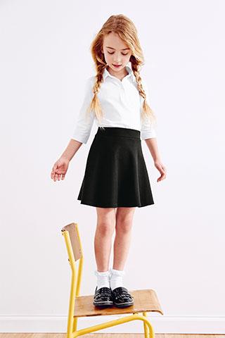 Dievčenské nohavice a sukne