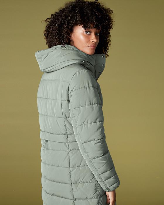 Dámske zimné kabáty