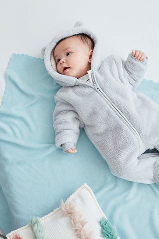 Kabáty, bundy a overaly pre bábätká