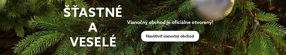 Vianočný obchod otvorený HP Banner_Slovak