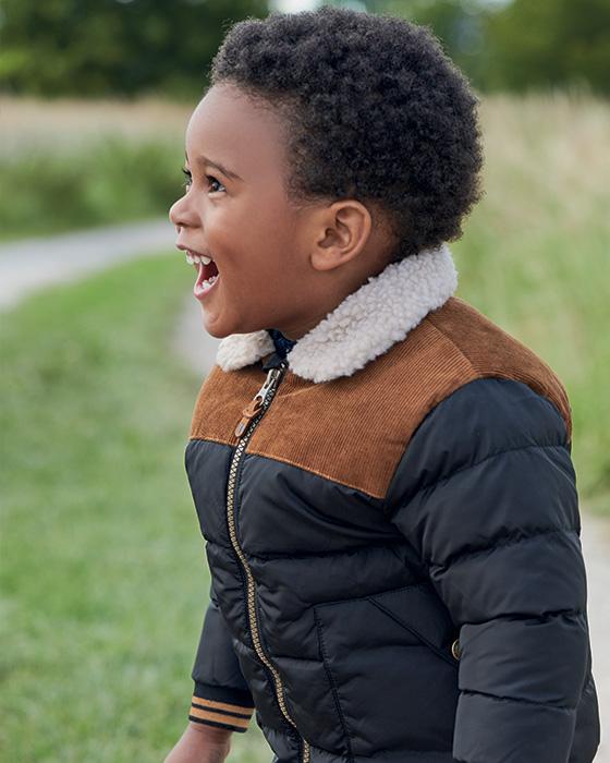 Chlapčenské zimné kabáty a bundy