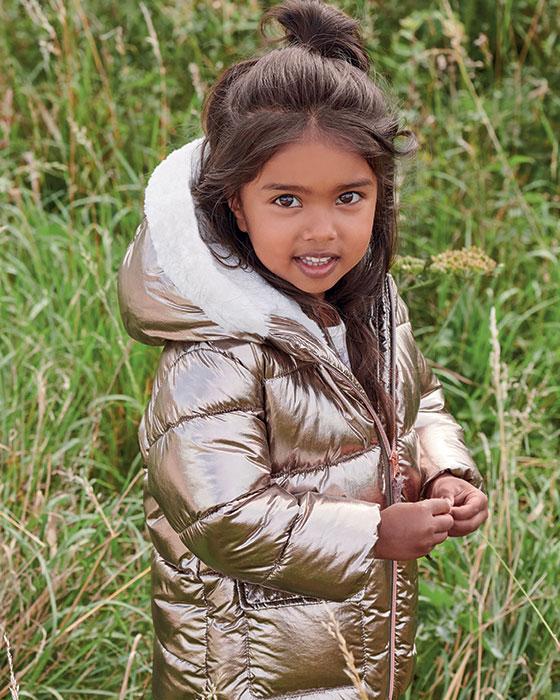 Dievčenské zimné kabáty a bundy