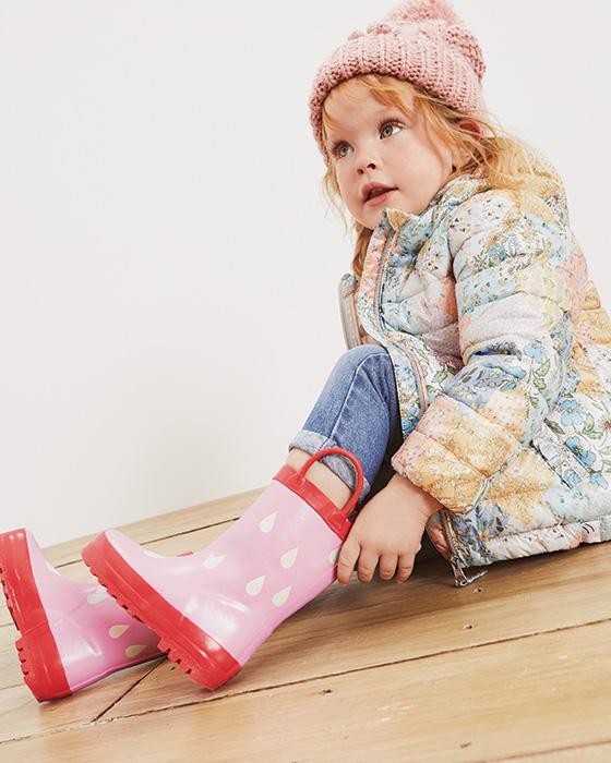 Dievčenské čižmy a gumáky