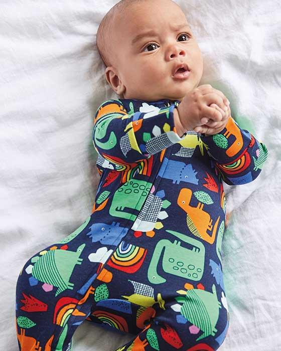 Overaly na spanie so zipsom pre bábätká