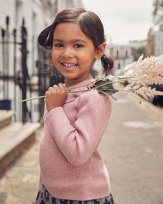 Pletené oblečenie pre dievčatá